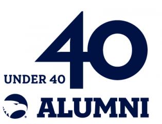 40 under 40 alumni logo