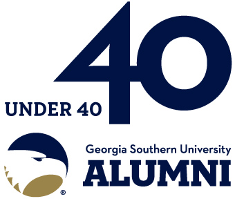 40 under 40 Georgia Southern University Alumni logo