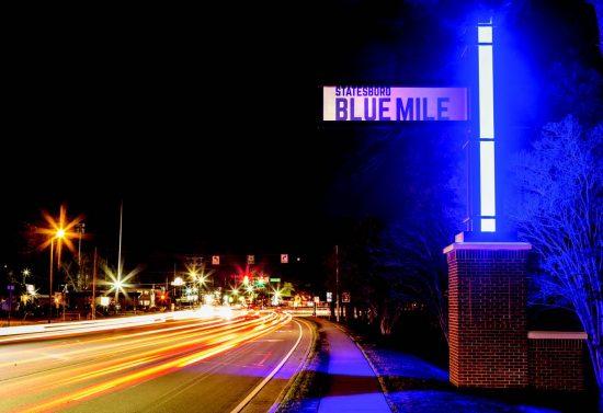 The Blue mile Statesboro GA Image