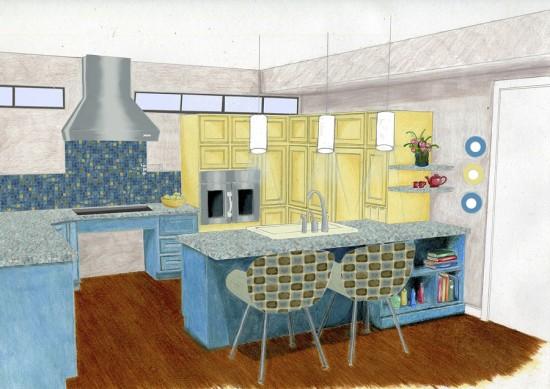 Callie's kitchen rendering