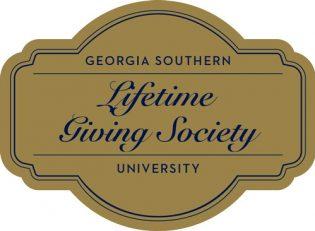 georgia southern university lifetime giving society logo