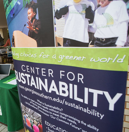 center for sustainability - making choices for a greener world banner
