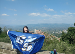 Georgia Southern Flag spotted around the globe image