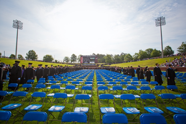 05-12 Georgia Southern University Holds Spring Commencement Ceremonies