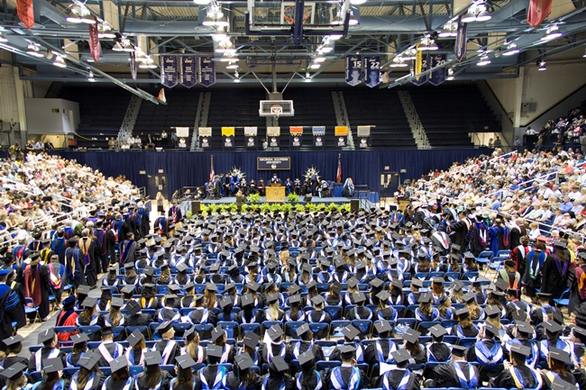 05-13 Georgia Southern University Holds First Graduate Commencement