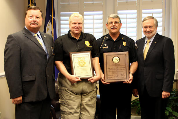 07-05 Georgia Southern University Police Department Earns Accreditation by Georgia Association of Chiefs of Police