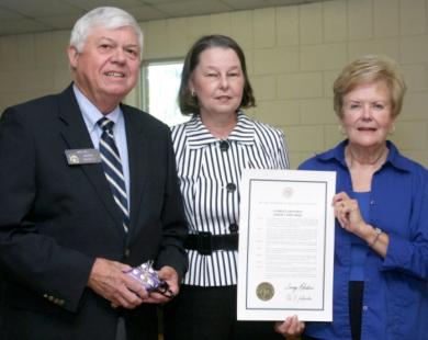 09-24 Georgia Southern University and Senator Jack Hill Recognize Senior Corps Volunteers