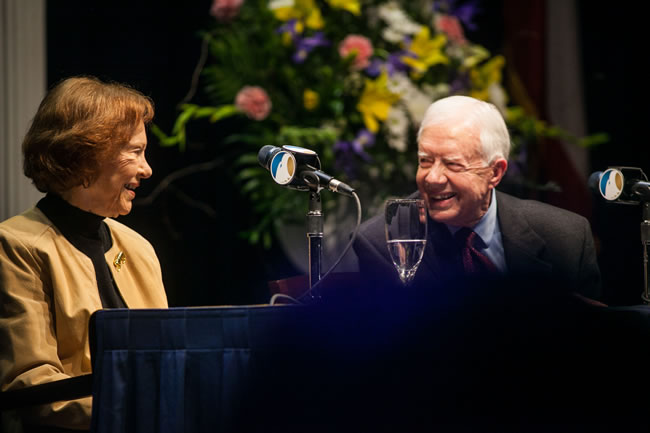 1-24 Ticket information for President Carter
