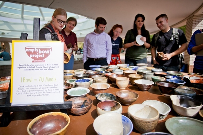 10-09 Georgia Southern University to Hold Empty Bowl Project Open Studios This Week