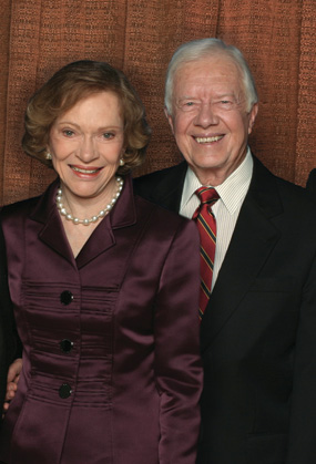 11-13 Former U.S. President Jimmy Carter and First Lady Rosalynn Carter to Speak at Georgia Southern University