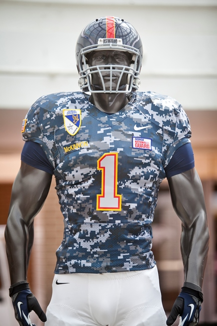 11-20 Georgia Southern Begins Auction for Nike Camouflage Jerseys