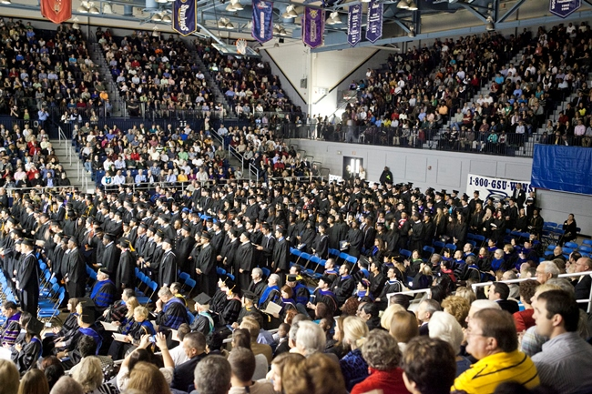 12-16 Georgia Southern University Holds Fall Commencement