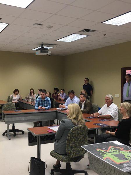 Georgia Southern students make presentaitons