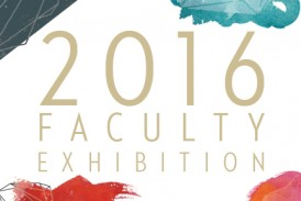 2016 Faculty Exhibtion Postcard