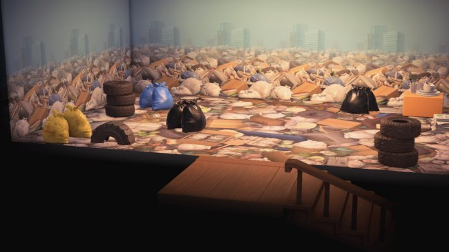 Virtual art gallery image