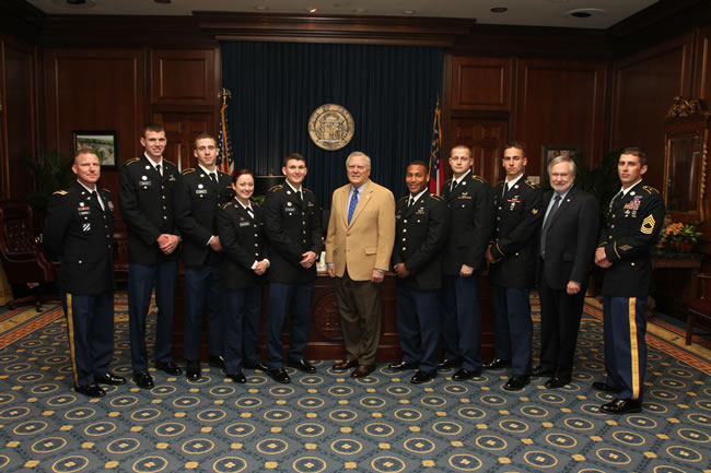 3-6 Eagle battalion honored by GA lawmakers