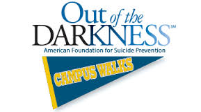 4-18 Out of the darkness walk for suicide prevention