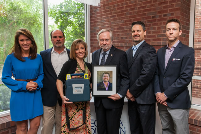 5-7 Family Donates AED in Memory of Georgia Southern Student