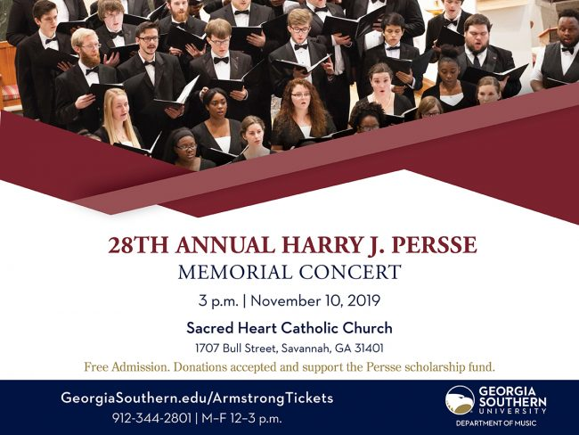 J. Harry Persse Memorial Concert