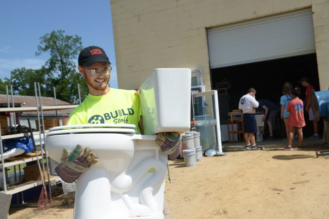Georgia Southern students involved in the 2019 BUILD program completed 2,480 hours of community service in the Statesboro community.