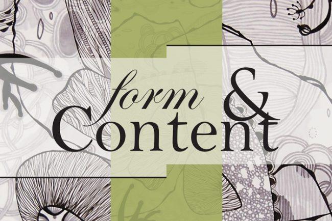 Form & Content Exhibition