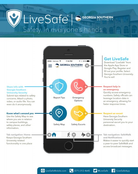 Georgia Southern-LiveSafe-Overview-Letter