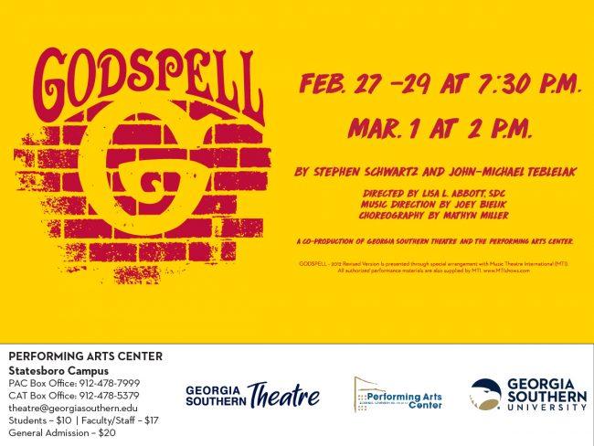 """""""Godspell"""" Broadway musical"""