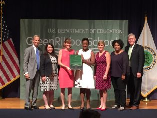 Georgia Southern was recognized as a 2018 U.S. Department of Education Green Ribbon School Postsecondary Sustainability Awardee