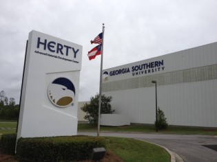 Herty Exterior Signage