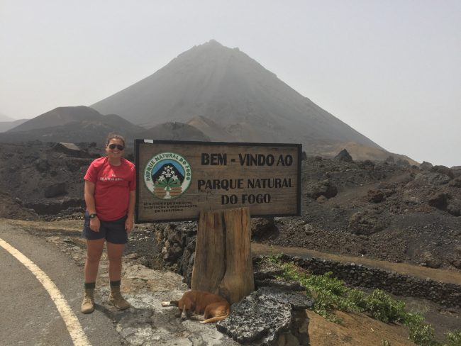 Mattie Cantrall said climbing a volcano in Africa is just one of experiences she's had during her time at Georgia Southern that has prepared her for a career in the Army.