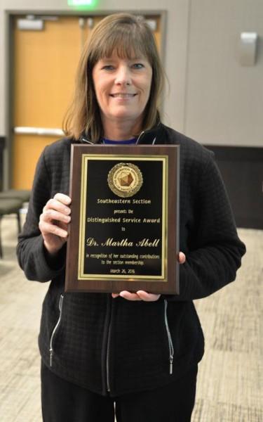 M.Abell MAA award