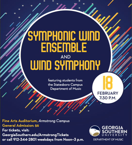 Symphonic Wind Ensemble and Wind Symphony spring concert