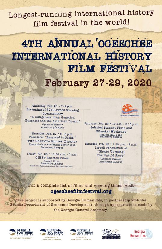 Ogeechee International History Film Festival