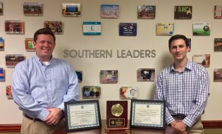 Southern Leaders Students with awards