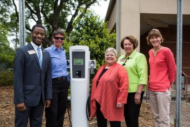charging station unveiling