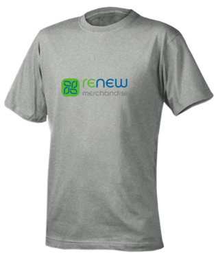 The College of Business and Center for Sustainability has partnered with Renew Merchandise to make apparel made from recycled plastic bottles. (photo courtesy of www.renewmerchandise.com)